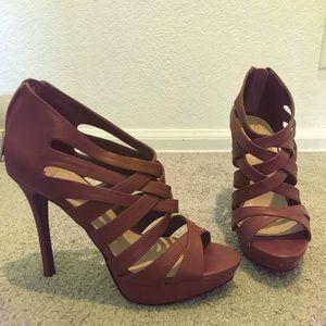 Shoes - Strap heels